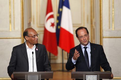 Marzouki veut «refonder les liens» franco-tunisiens