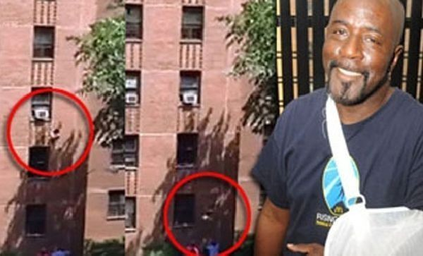 USA : il rattrape une fillette qui tombe d'un immeuble