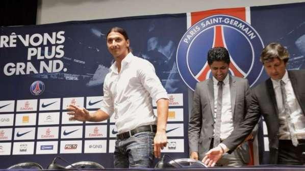 PSG : les premiers mots de Zlatan Ibrahimovic
