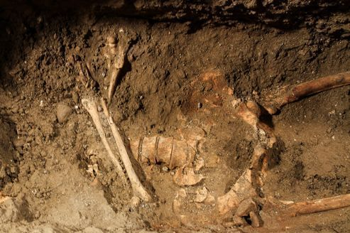 Le squelette de la Joconde aurait été découvert