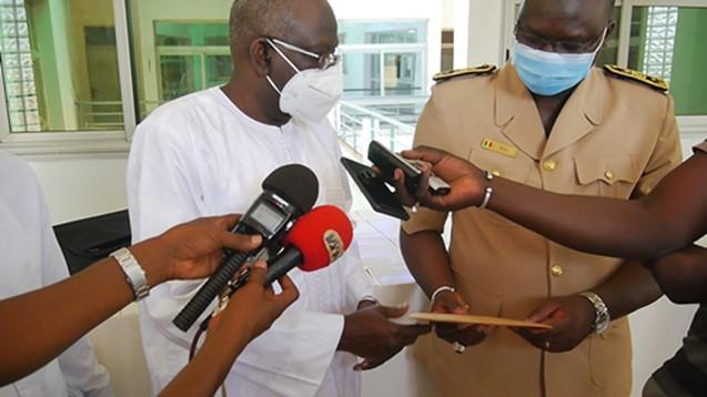 Covid 19/ Kédougou : Le Ministre Opa Ndiaye soutient la région