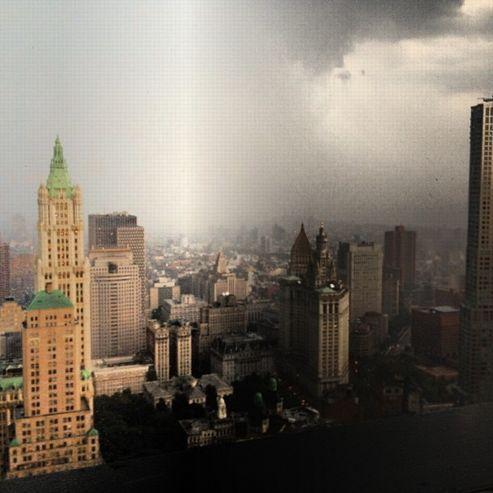 Une spectaculaire tempête frappe New York