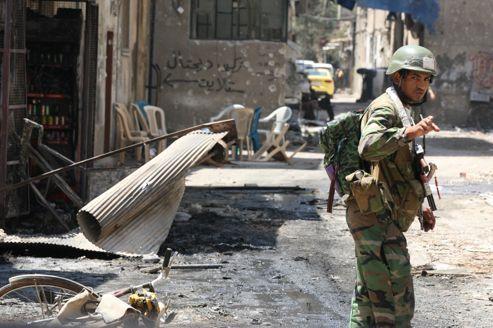 Le régime syrien veut reconquérir Damas