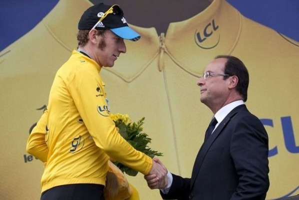 Tour de France : Bradley Wiggins remporte la 19e étape, et reste maillot jaune