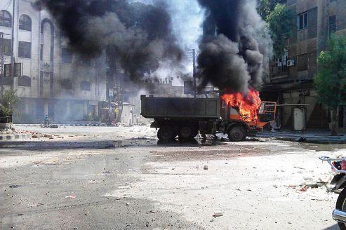 À Damas, les opposants toujours sous le feu des loyalistes