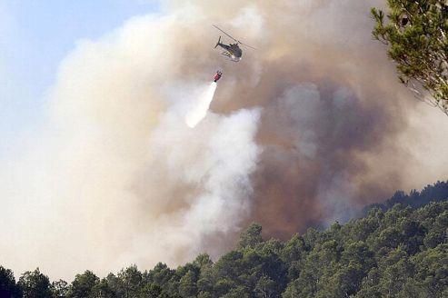 En Espagne, l'incendie est toujours hors de contrôle