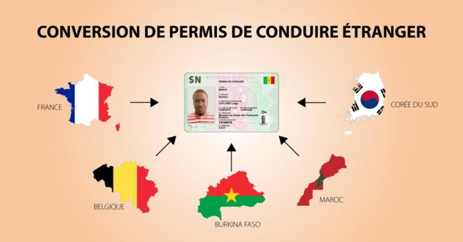 FIN DE LA PRATIQUE D'ECHANGE DES PERMIS DE CONDUIRE SENEGALAIS AU 31 MARS 2020
