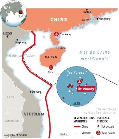 Pékin s'installe en mer de Chine méridionale