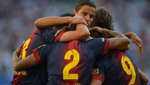 Le FC Barcelone ne fait pas de cadeau à Hambourg