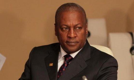 John Dramani Mahama est le nouveau Président du Ghana