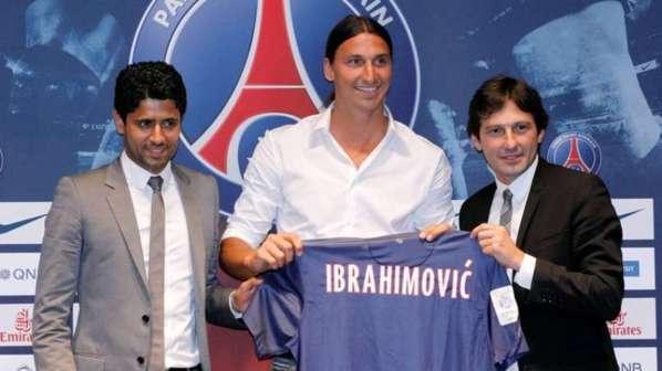 PSG : les premiers pas de Zlatan Ibrahimovic