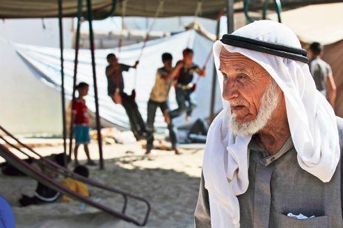 Les réfugiés syriens affluent  aux frontières