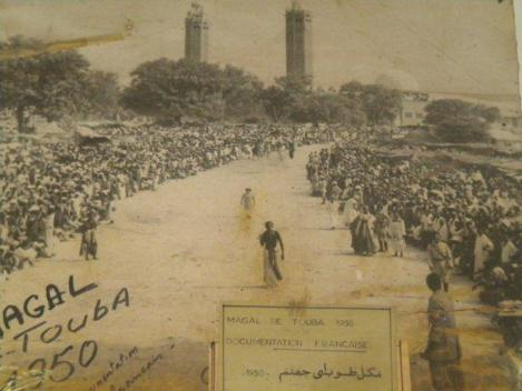 Image du magal de touba 1950