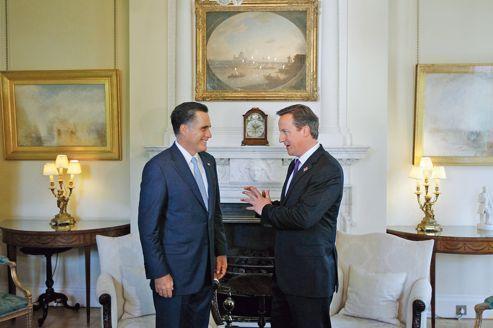 Romney commence sa tournée à l'étranger par une bourde