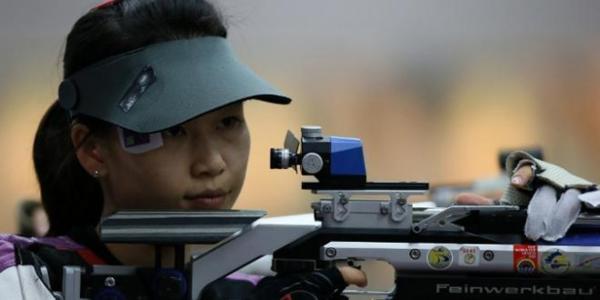 JO: la première médaille d'or pour la Chine