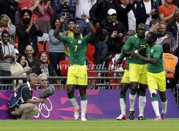 """JO 2012 : Les """"Lions"""" bouffent la Celeste"""