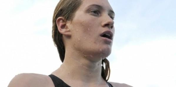 JEUX OLYMPIQUES : Camille Muffat décroche l'argent sur 200m nage libre