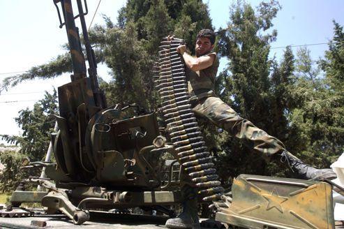 À Alep, les rebelles attaquent les symboles du pouvoir