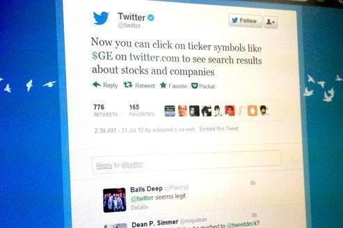 Twitter veut faire pleuvoir des «$» dans les discussions