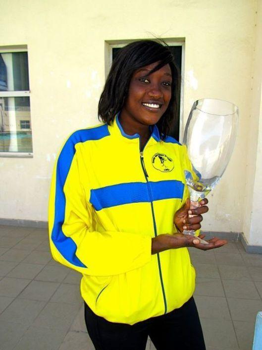 La nageuse Marième Faye éliminée après avoir gagné sa série