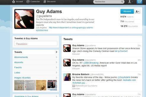 Twitter bloque le compte d'un journaliste puis s'excuse