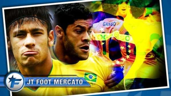 Neymar, Ganso, Hulk, Lucas : la nouvelle dynastie d'un mercato made in Samba !