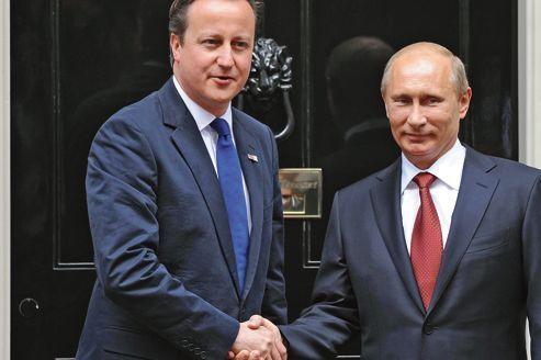 Cameron ne parvient pas à faire fléchir Poutine