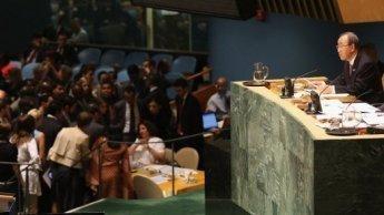 L'Assemblée générale de l'ONU condamne l'inaction du Conseil de sécurité