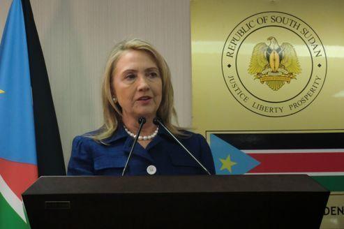 Hillary Clinton tance les deux Soudans
