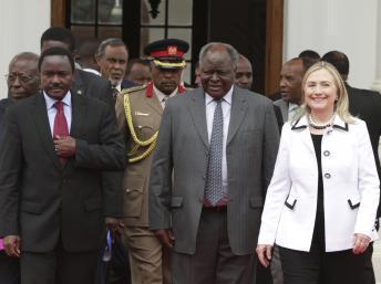 Kenya : à Nairobi, Hillary Clinton propose l'expertise américaine pour l'élection présidentielle