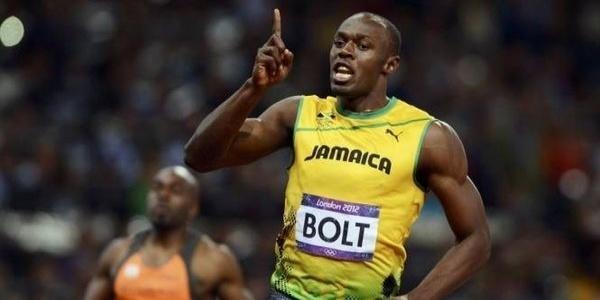 Le Jamaïcain Usain Bolt champion olympique du 100 m en 9''63