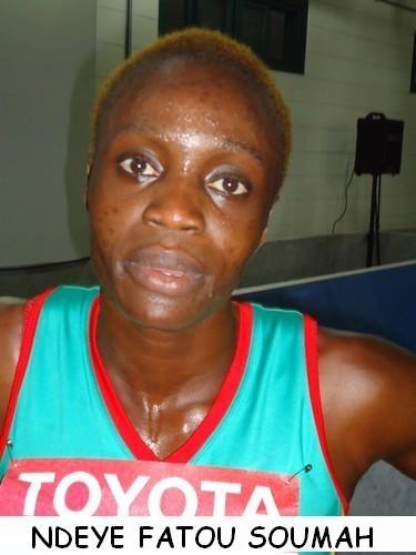 JO:Ndèye Fatou Soumah éliminée au premier tour du 200 m