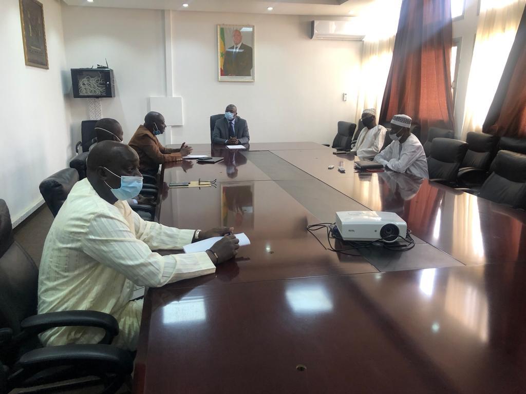 Covid-19 : Le Réseau des Villes et Communes Vertes et Ecologiques du Sénégal apporte sa contribution symbolique