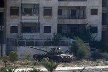 Les blindés d'el-Assad se déploient au centre d'Alep