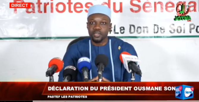 « En allant au Palais, on ne s'attendait à rien de sérieux » dixit Ousmane Sonko