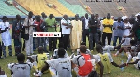 CAN JUNIOR 2013 : Dernière séance d'entrainement des Lionceaux au stade LSS