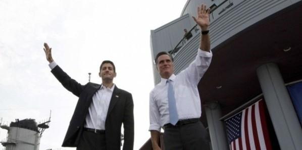 [Vidéo] Mitt Romney commet un lapsus en présentant son colistier