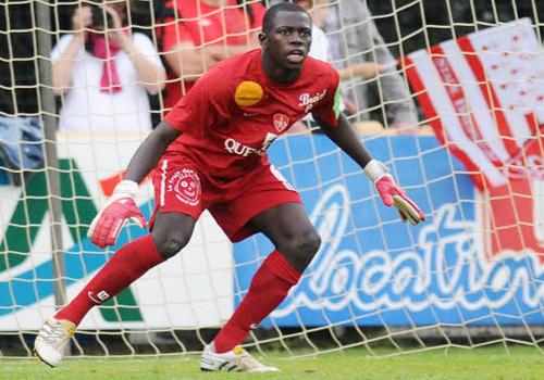 """Ousmane Mané gardien des """"Lions"""": """"Drogba est au même niveau que Cavani et Giggs"""""""
