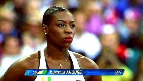 JO 2012 : l'athlète ivoirienne, Muriel Ahouré est bloquée à Londres