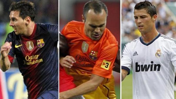 Les trois finalistes pour le titre de meilleur joueur UEFA sont...