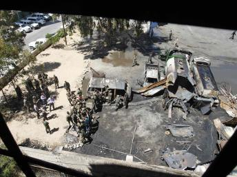 Nouvel attentat des rebelles au coeur de Damas
