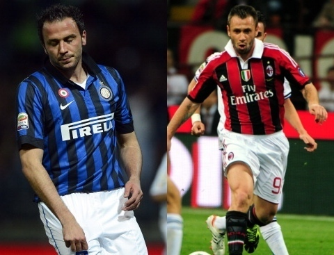 Milan Vs Inter: Echange Cassano-Pazzini (officiel)