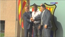 Fc Barcelone: Alexandre Song passe sa visite médicale (Video)