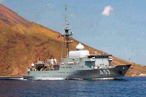 Syrie: le navire espion Oker fait des vagues en Allemagne
