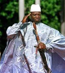 Portrait de la semaine (Président Yaya Jameh)
