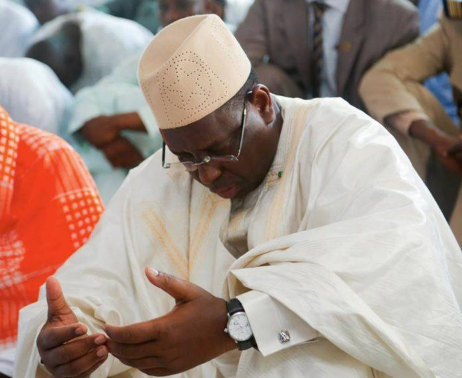 Fête de Korité: Macky Sall va prier dans sa résidence