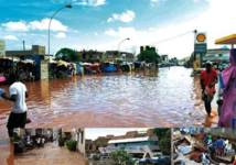 Pluies diluviennes Inondations, effondrements, décès, coupures d'électricité,… : Le Sénégal boit jusqu'à la lie