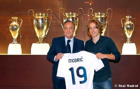 Real Madrid : les premiers mots de Luka Modric