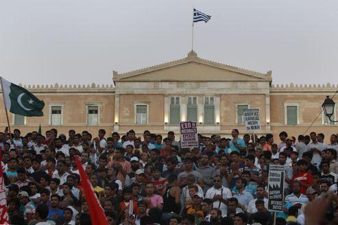 En Grèce, la crise réveille le sentiment identitaire