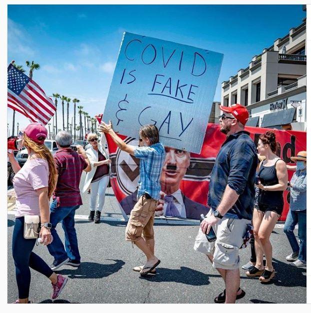Le message homophobe d'une manifestation aux États-Unis suscite l'indignation